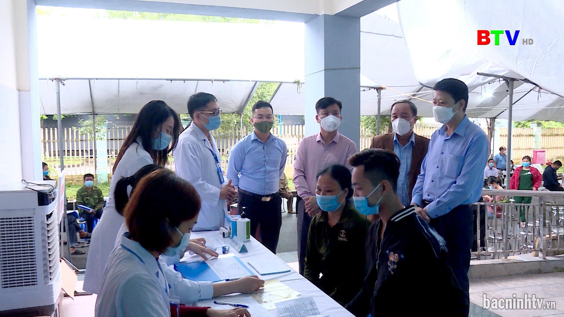 Yên Phong tiêm thử nghiệm vắc xin ARCT-154 gia đoạn 3b