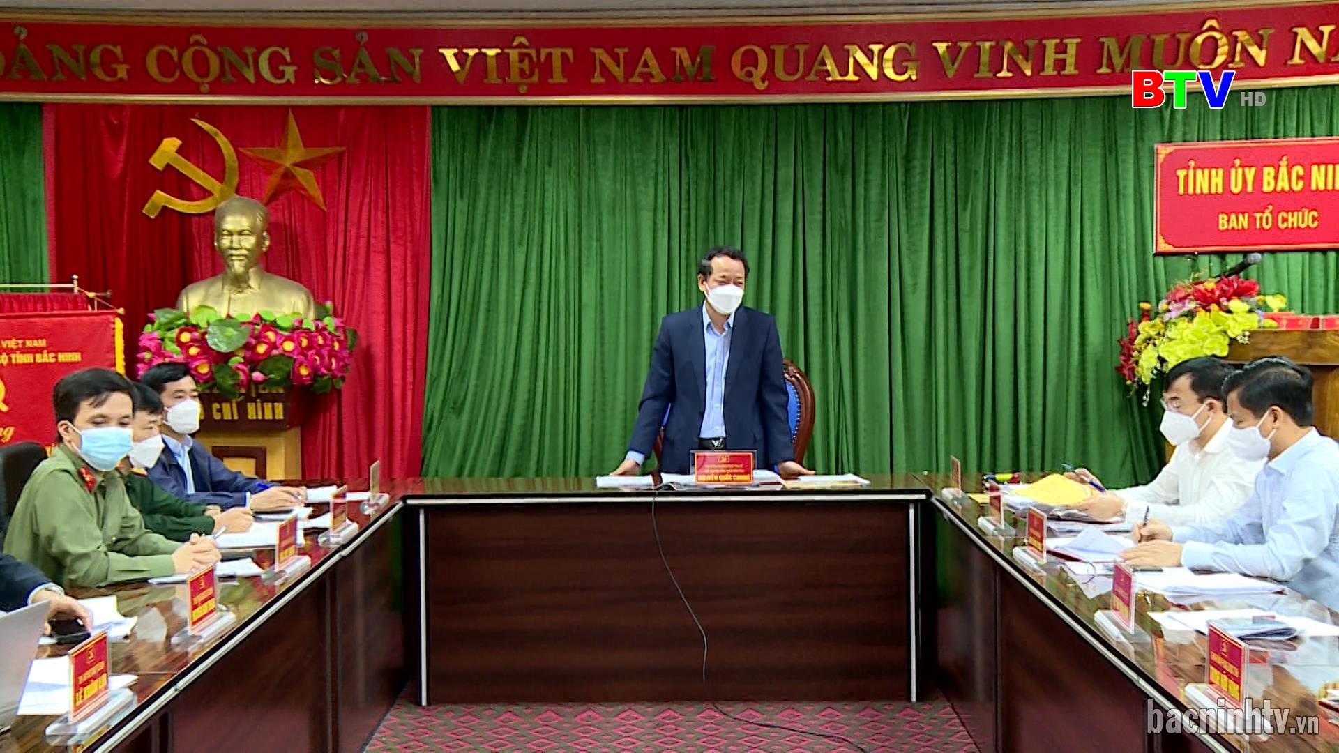 Triển khai tổ chức Lễ kỷ niệm 100 năm Ngày sinh đồng chí Lê Quang Đạo  và công bố Nghị quyết thành lập thành phố Từ Sơn