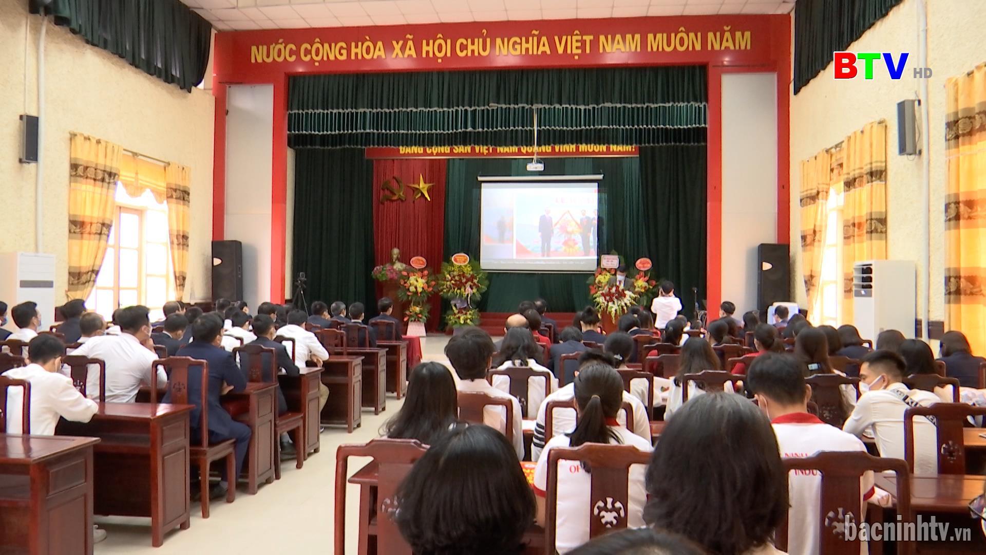 Trường Cao đẳng Công nghiệp Bắc Ninh khai giảng năm học 2021-2022